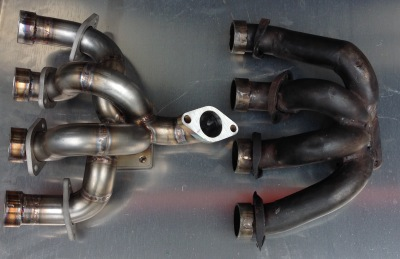Custom fabrication of our customer exhausts and inlet manifolds